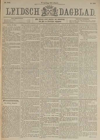 Leidsch Dagblad 1896-06-26