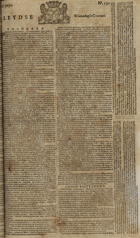 Leydse Courant 1752-11-15