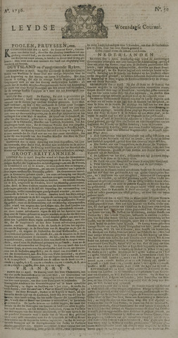Leydse Courant 1736-04-25