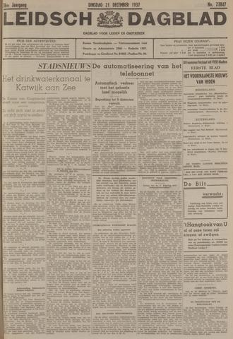 Leidsch Dagblad 1937-12-21