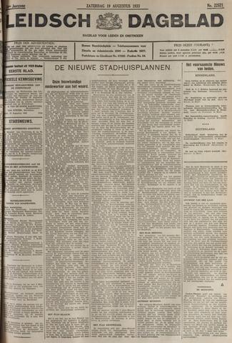 Leidsch Dagblad 1933-08-19