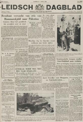 Leidsch Dagblad 1956-04-07
