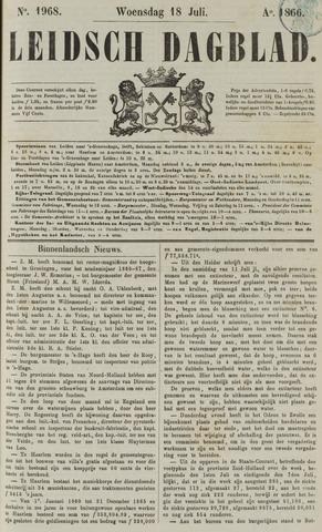 Leidsch Dagblad 1866-07-18
