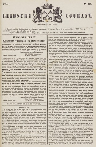 Leydse Courant 1884-07-30