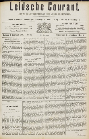 Leydse Courant 1890-02-07
