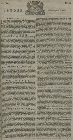 Leydse Courant 1734-05-24