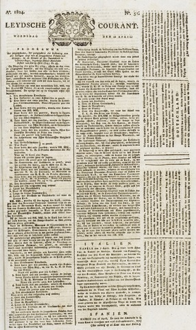 Leydse Courant 1824-04-28