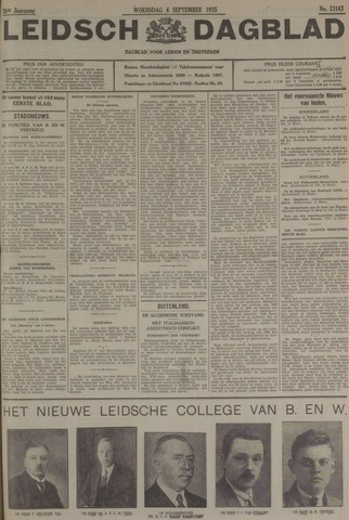 Leidsch Dagblad 1935-09-04