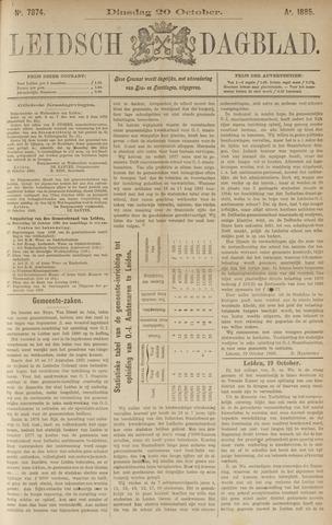Leidsch Dagblad 1885-10-20