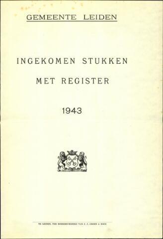 Handelingen van de Raad 1943-01-01
