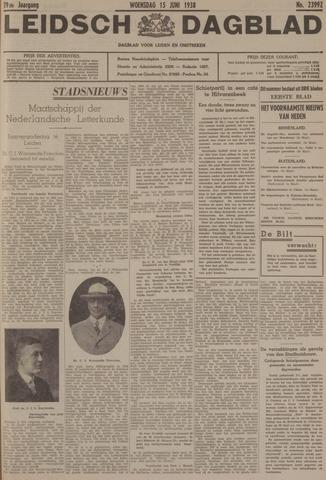Leidsch Dagblad 1938-06-15