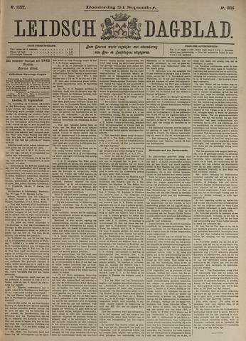 Leidsch Dagblad 1896-09-24