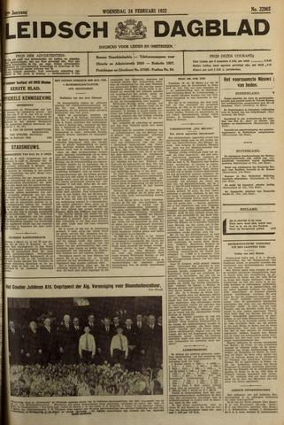 Leidsch Dagblad 1932-02-24