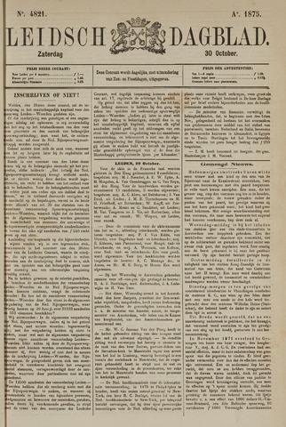 Leidsch Dagblad 1875-10-30