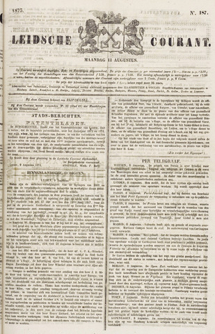 Leydse Courant 1873-08-11