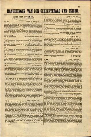 Handelingen van de Raad 1873-03-26