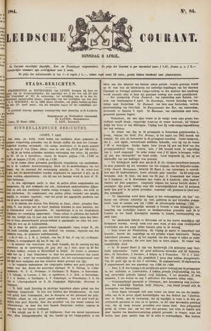 Leydse Courant 1884-04-08