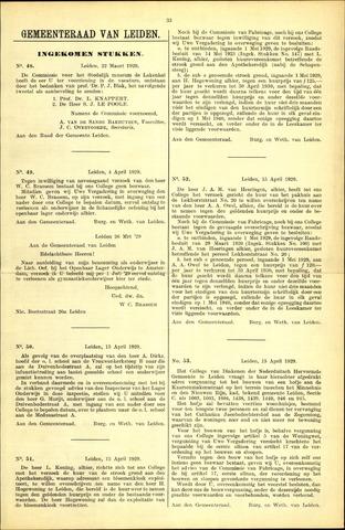 Handelingen van de Raad 1929-03-22