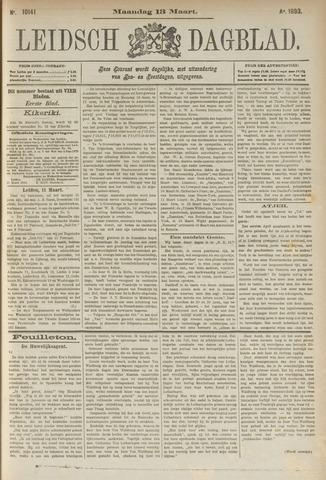 Leidsch Dagblad 1893-03-13