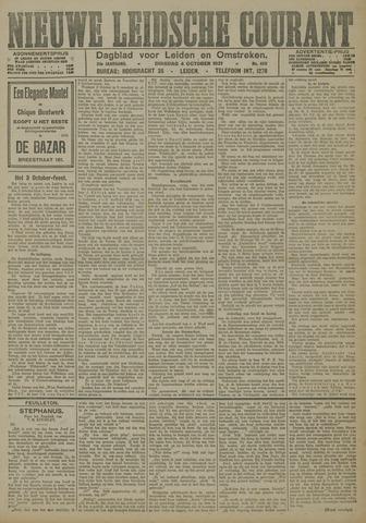 Nieuwe Leidsche Courant 1921-10-04