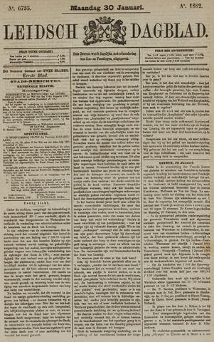 Leidsch Dagblad 1882-01-30