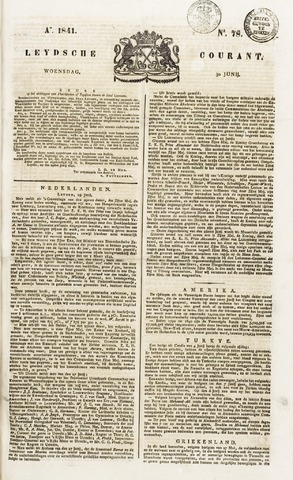 Leydse Courant 1841-06-30