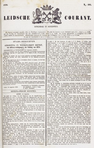 Leydse Courant 1876-08-15