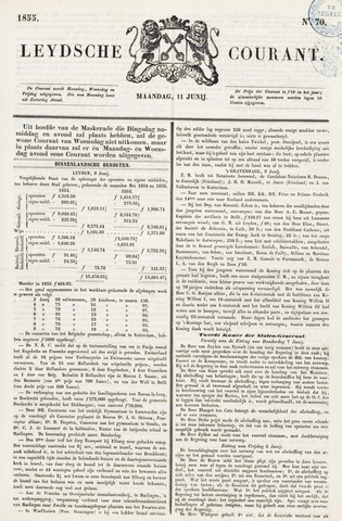 Leydse Courant 1855-06-11