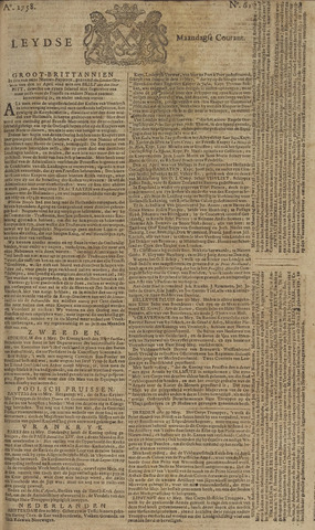 Leydse Courant 1758-05-22
