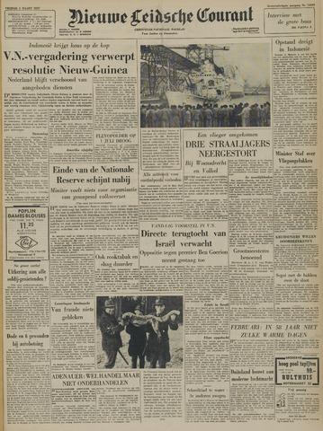 Nieuwe Leidsche Courant 1957-03-01