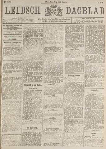 Leidsch Dagblad 1916-07-13