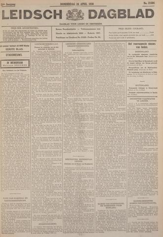 Leidsch Dagblad 1930-04-24