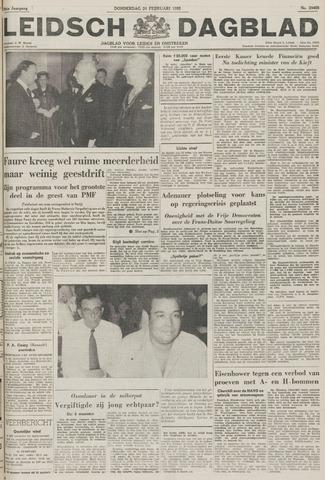 Leidsch Dagblad 1955-02-24