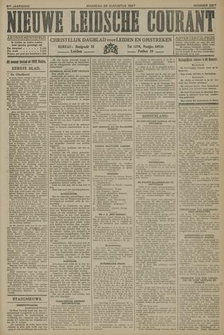 Nieuwe Leidsche Courant 1927-08-29