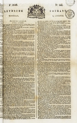 Leydse Courant 1843-08-23