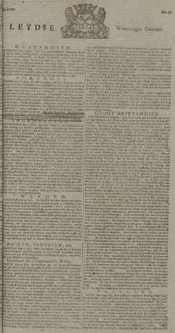 Leydse Courant 1727-08-13