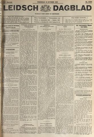 Leidsch Dagblad 1932-10-19
