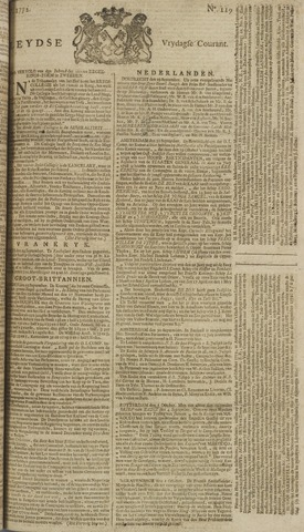 Leydse Courant 1772-10-02