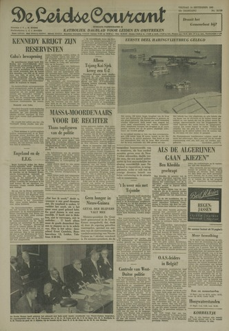 Leidse Courant 1962-09-14