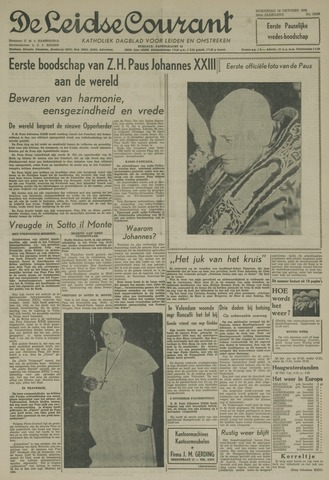Leidse Courant 1958-10-29
