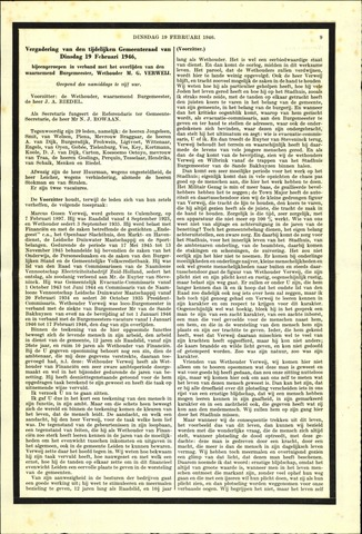 Handelingen van de Raad 1946-02-19