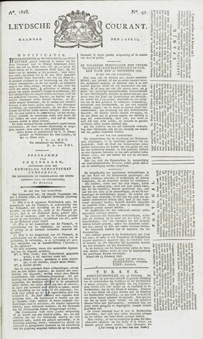 Leydse Courant 1828-04-07
