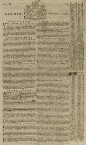 Leydse Courant 1763-04-11
