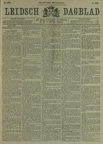 Leidsch Dagblad 1909-10-28