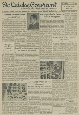 Leidse Courant 1949-09-29