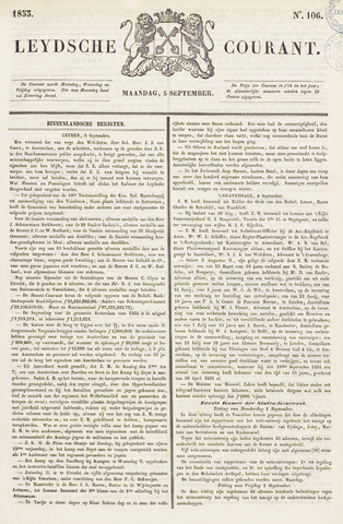 Leydse Courant 1853-09-05
