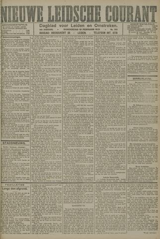 Nieuwe Leidsche Courant 1921-02-10