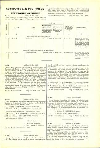 Handelingen van de Raad 1938-05-10