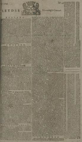 Leydse Courant 1743-02-06