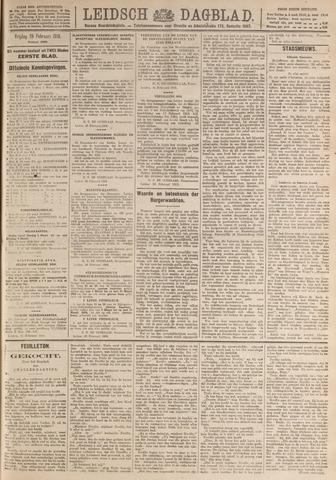 Leidsch Dagblad 1919-02-28